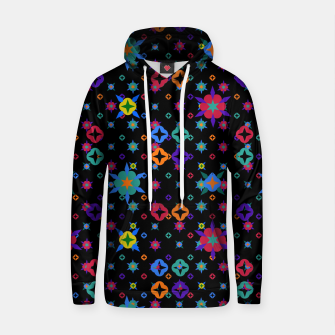 Thumbnail image of Small Flowers Pattern Cotton hoodie, Live Heroes