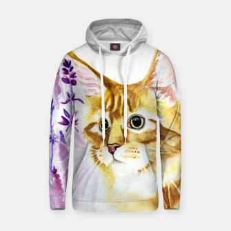 Thumbnail image of Lilac Cotton hoodie, Live Heroes