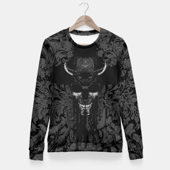 Thumbnail image of Better The Devil You Know Woman cotton sweater, Live Heroes