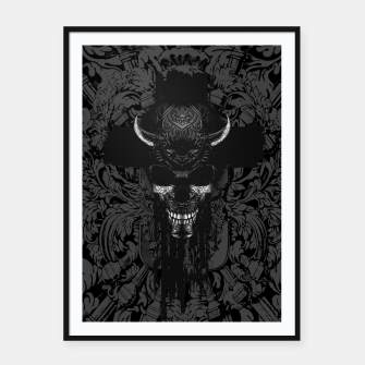 Thumbnail image of Better The Devil You Know Framed poster, Live Heroes