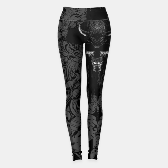 Thumbnail image of Better The Devil You Know Leggings, Live Heroes