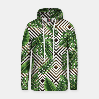 Thumbnail image of Tropical VII Cotton hoodie, Live Heroes