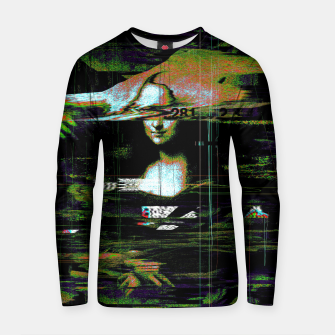 Thumbnail image of Mona Lisa Glitch Cotton sweater, Live Heroes