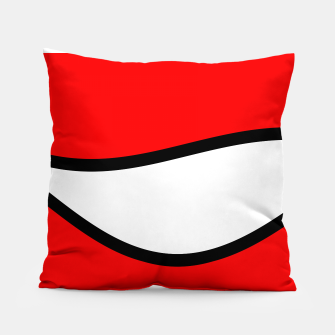Miniaturka Abstract pattern - red, black and white. Pillow, Live Heroes