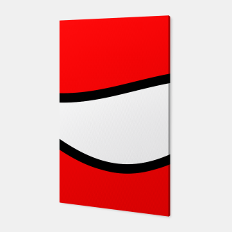 Miniaturka Abstract pattern - red, black and white. Canvas, Live Heroes