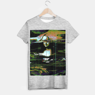 Thumbnail image of Mona Lisa Glitch T-shirt regular, Live Heroes
