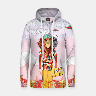 Thumbnail image of Lion Cotton hoodie, Live Heroes
