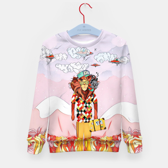 Thumbnail image of Lion Kid's sweater, Live Heroes