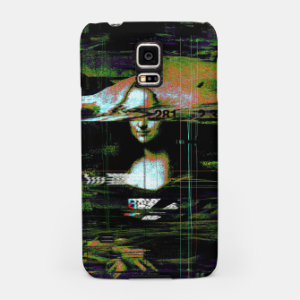 Thumbnail image of Mona Lisa Glitch Samsung Case, Live Heroes