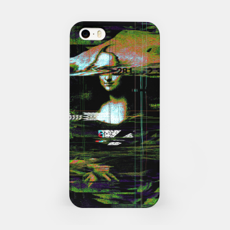 Thumbnail image of Mona Lisa Glitch iPhone Case, Live Heroes