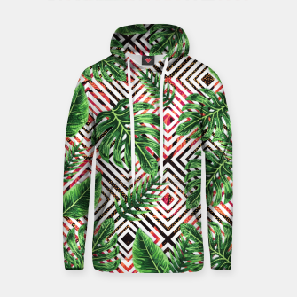 Thumbnail image of Tropical VIII Cotton hoodie, Live Heroes