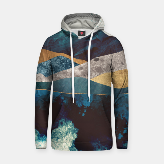 Thumbnail image of Blue Mountain Reflection Cotton hoodie, Live Heroes