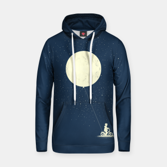 THE BOY WHO STOEL THE MOON Cotton hoodie miniature