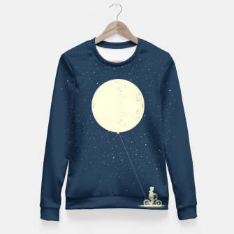THE BOY WHO STOEL THE MOON Woman cotton sweater miniature