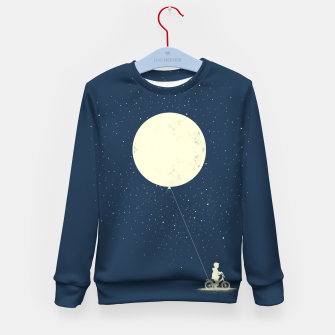 THE BOY WHO STOEL THE MOON Kid's sweater miniature