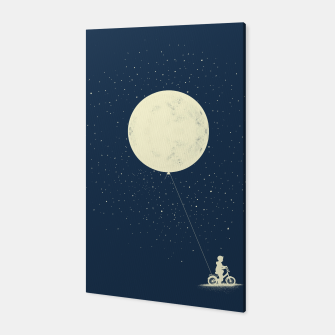 THE BOY WHO STOEL THE MOON Canvas miniature