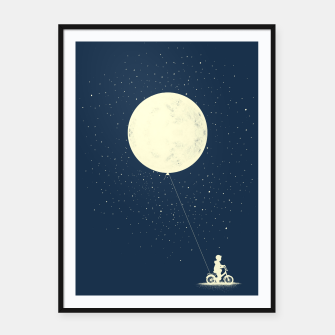 THE BOY WHO STOEL THE MOON Framed poster miniature