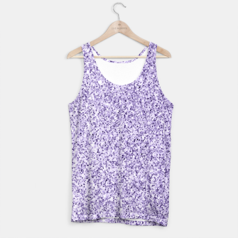Thumbnail image of Ultra violet light purple glitter sparkles Tank Top, Live Heroes
