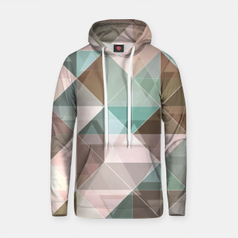 Thumbnail image of Triangles overlapping colors Sudadera con capucha de algodón, Live Heroes