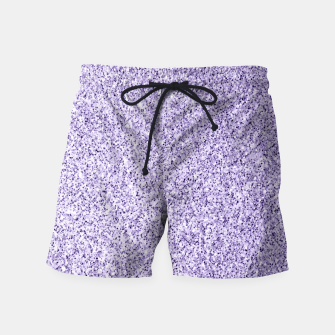 Thumbnail image of Ultra violet light purple glitter sparkles Swim Shorts, Live Heroes