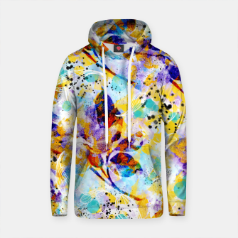 Thumbnail image of Painting abstract plants Sudadera con capucha de algodón, Live Heroes