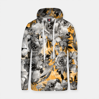 Thumbnail image of Flowered blooms Sudadera con capucha de algodón, Live Heroes