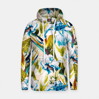Thumbnail image of Floral Exotic Pattern I Sudadera con capucha de algodón, Live Heroes