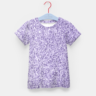 Thumbnail image of Ultra violet light purple glitter sparkles Kid's t-shirt, Live Heroes