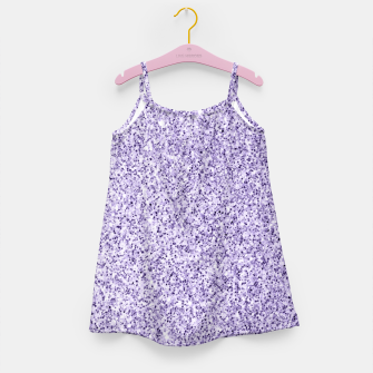 Thumbnail image of Ultra violet light purple glitter sparkles Girl's dress, Live Heroes