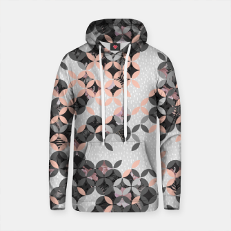 Thumbnail image of Mosaic patterned and flowering I Sudadera con capucha de algodón, Live Heroes
