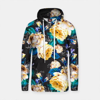 Thumbnail image of Flourishing in the night Sudadera con capucha de algodón, Live Heroes