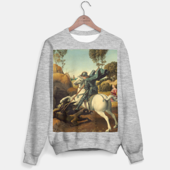 Miniatur Saint George and the Dragon Oil Painting By Raphael Sweater regular, Live Heroes
