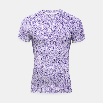 Thumbnail image of Ultra violet light purple glitter sparkles Shortsleeve rashguard, Live Heroes