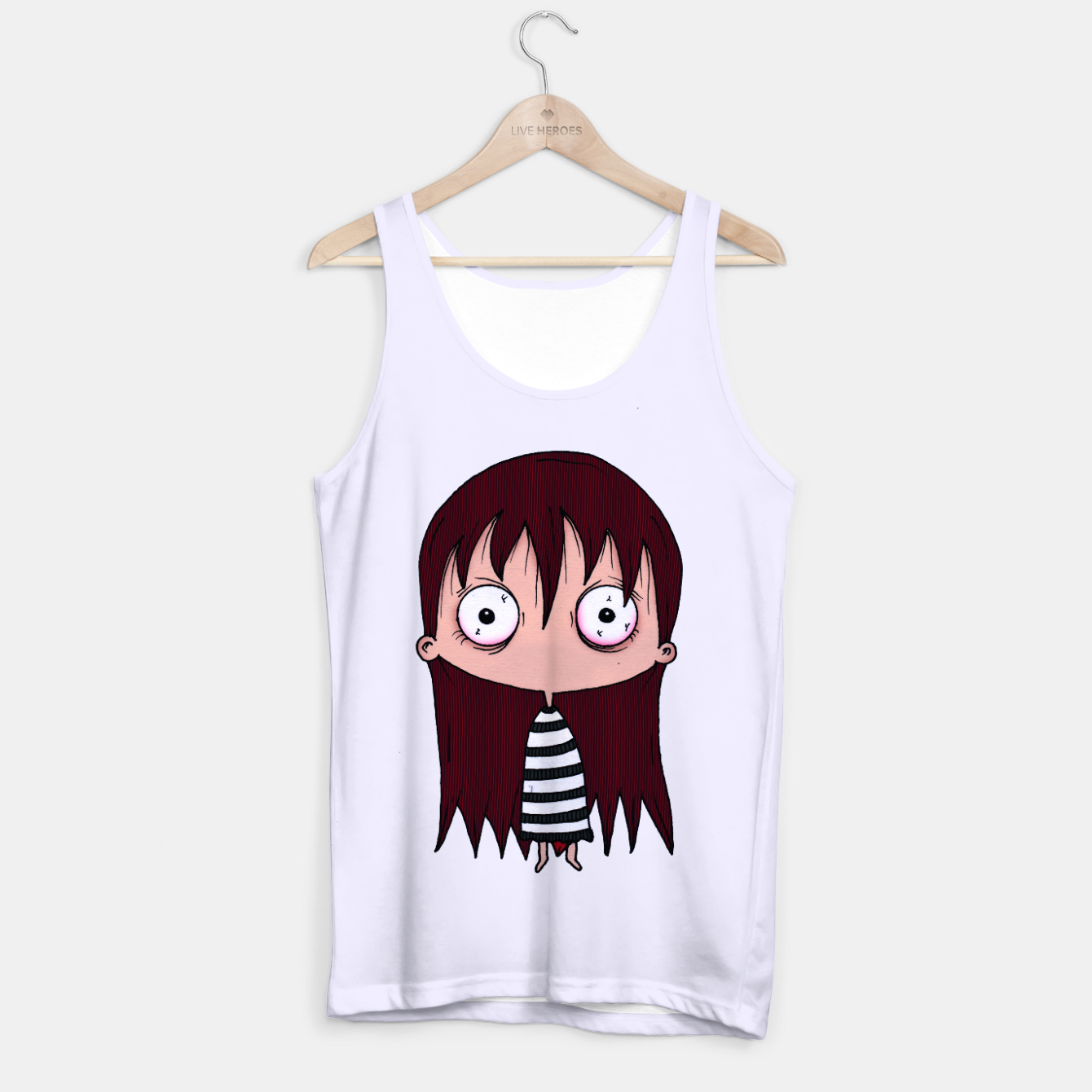 Image of Girl Tank Top - Live Heroes