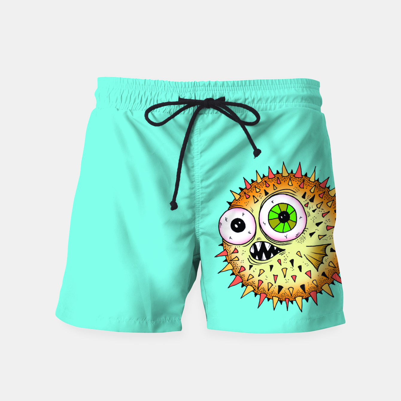 Image of BlobeFish Swim Shorts - Live Heroes