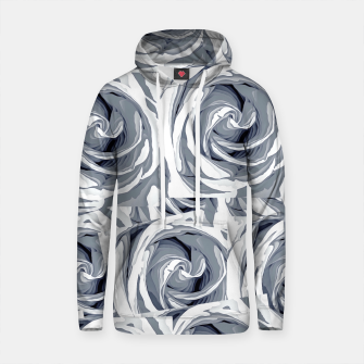 Thumbnail image of closeup white rose texture pattern abstract background Cotton hoodie, Live Heroes