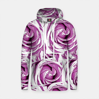 Thumbnail image of closeup pink rose texture pattern abstract background Cotton hoodie, Live Heroes