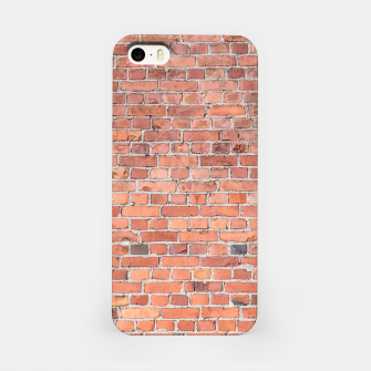 Miniaturka Plain Old London Red / Orange Brick Wall iPhone Case, Live Heroes