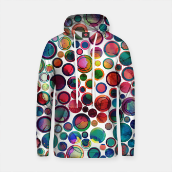 Imagen en miniatura de Dots on Painted Background 2 Cotton hoodie, Live Heroes