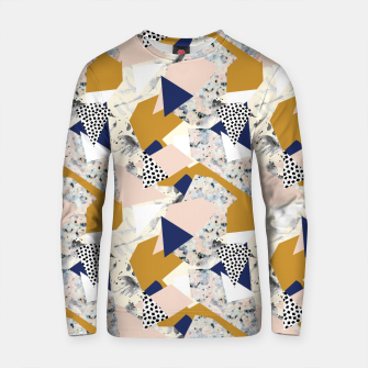 Thumbnail image of Shape of abstract textures Sudadera de algodón, Live Heroes