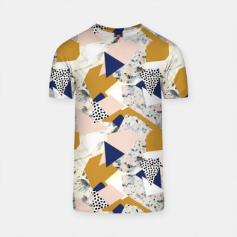 Thumbnail image of Shape of abstract textures Camiseta, Live Heroes
