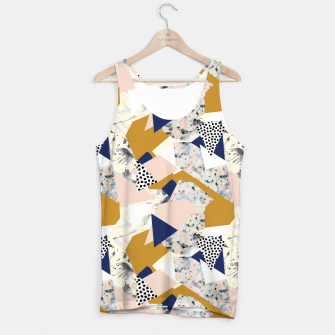 Thumbnail image of Shape of abstract textures Camiseta de tirantes, Live Heroes