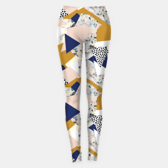 Thumbnail image of Shape of abstract textures Leggings, Live Heroes