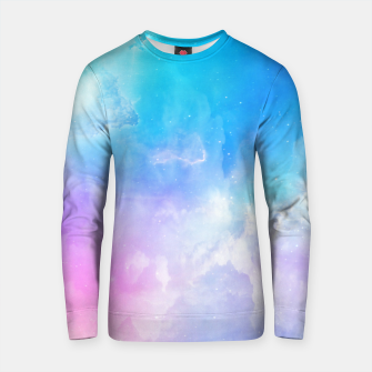 Thumbnail image of Pastel galaxy Cotton sweater, Live Heroes