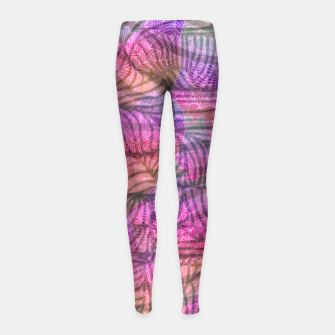Thumbnail image of ifyp Girl's leggings, Live Heroes