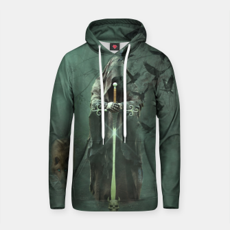 Thumbnail image of Eden Collapse Cotton hoodie, Live Heroes