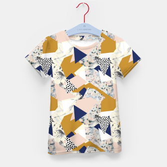 Thumbnail image of Shape of abstract textures Camiseta para niños, Live Heroes