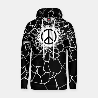Thumbnail image of Peacebreaker Cotton hoodie, Live Heroes