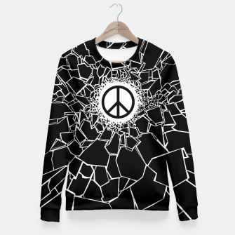 Peacebreaker Woman cotton sweater thumbnail image