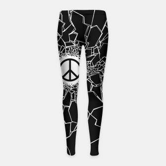 Thumbnail image of Peacebreaker Girl's leggings, Live Heroes
